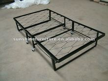 cheap industrial commercial metal iron single folding beds