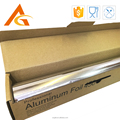 high quality silver rewinding aluminum foil for BBQ