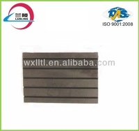 Railway rubber plate vibration absorbing pads