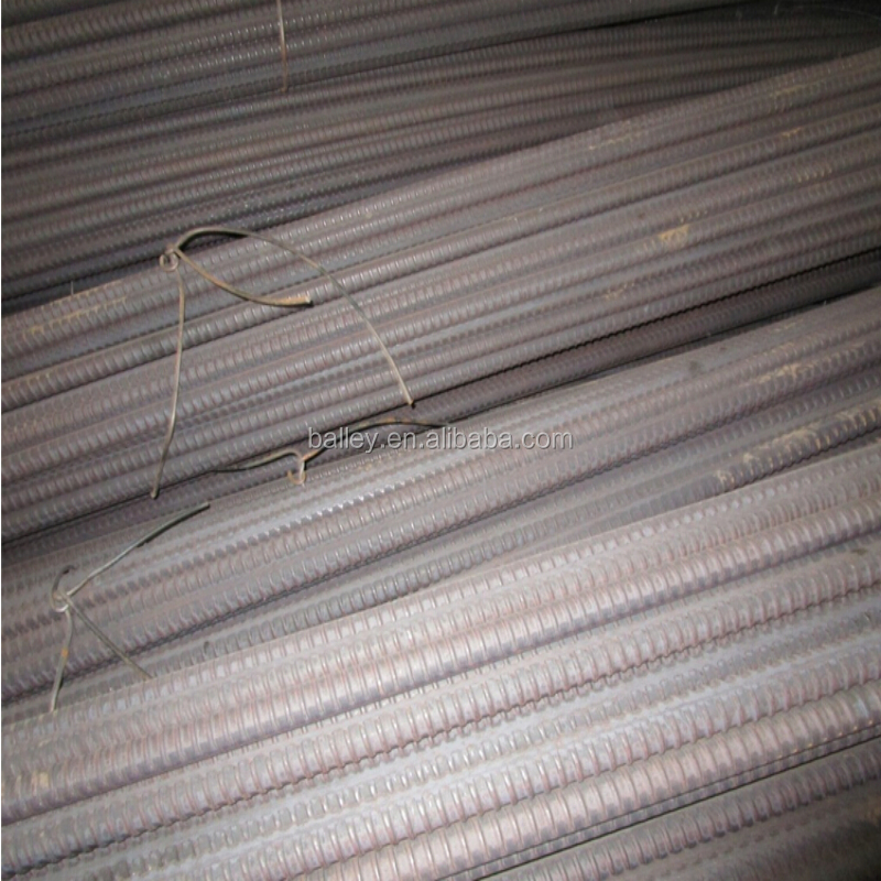 High Tensile Steel Screw Thread Bars for the prestressing of concrete