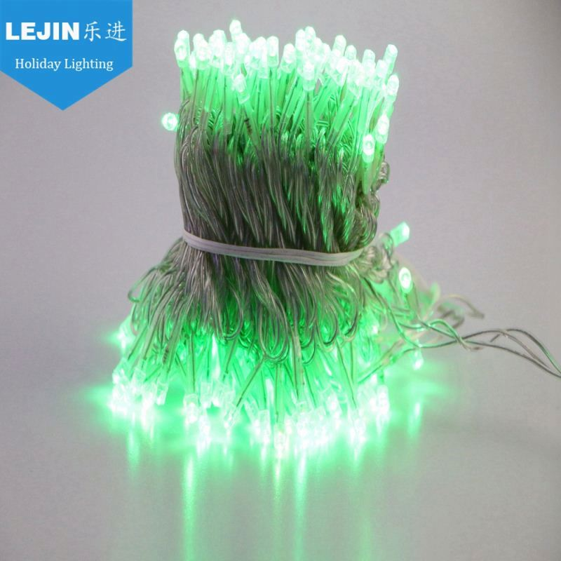 High Grade Extension Cord 10m 100led5m 10m green home decoration string light