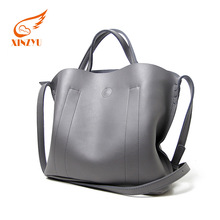 2017 pu leather handbags in the city gery large handbags and purses