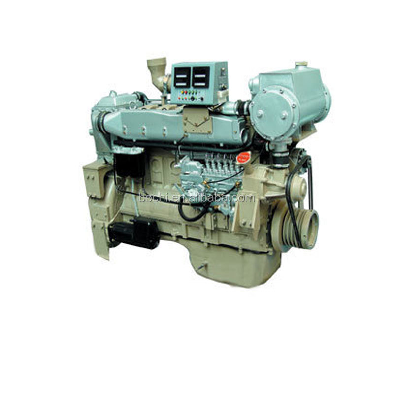 Low Noise Marine Diesel Engine With Gear Box For Sale