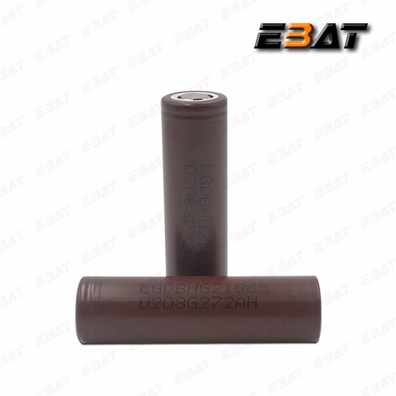 Authentic 18650 li-ion type battery 3.7v LG HG2 3000mAh 20a dewalt power tools battery