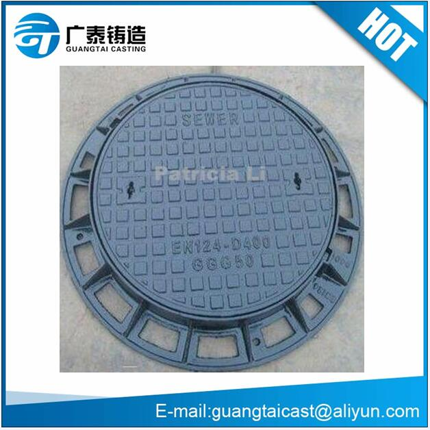 Ductile iron manhole cover cast &forged