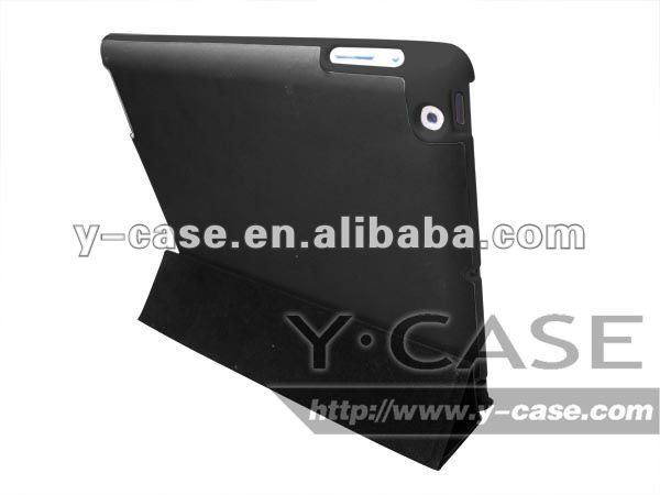 Smart cover leahter case for ipad3 OEM is welcome shenzhen dongguan China factory price