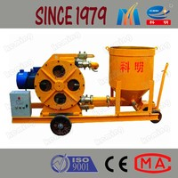 Electric Engine Squeeze Mortar Grout Pump Mortar Mixer and Pump