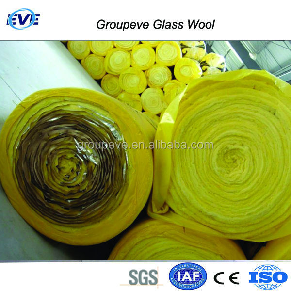 Fireproof Glass Wool Insulation Building Material