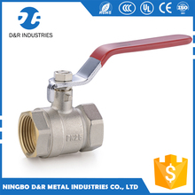 DR 1 inch female x female Screw Thread Water Brass Ball Valve