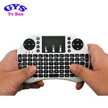 2.4G fly rii I8 air mouse wireless remote control for android mini pc RII i8 mini wireless keyboard