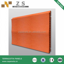 China manufacture exterior facade tile decoration wall clay stick cladding fixing systems