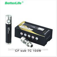 Huge vapor electronic cigaretter Betterlife CF sub tc vaporizer pen large in France market