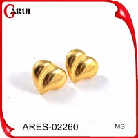 Earring made in korea fashion jewelry stainless steel special earring small gold earrings