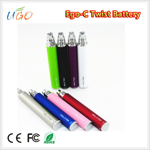 Cheapest Ego C Twist Battery E Vaporizer Pen Promotion