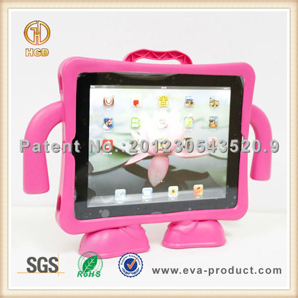 For ipad cases and covers ,Kids Shockproof rubber case for Apple iPad 2 3 4