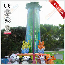 thrilling in China park ride frog jumping rides for sale