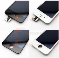 Newest Screen With Digitizer Assembly on Alibaba, Lcd Screen Mobile Phones for Iphone 4g, LCD Display Screen Phone