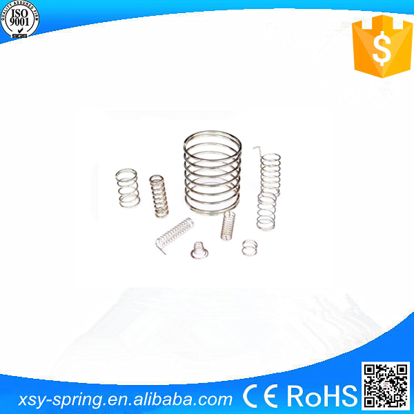 Nickel plated pocket compression springs for auto manufacturer