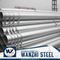 In Stock ! hot sale sonic logging tube steel galvanized pipe for scaffold tube with great price, made in china