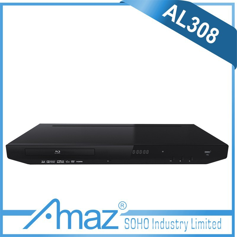 Used 3D blu ray DVD player with Support 4:3 and 16:9 TV picture modes