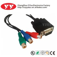 Hot Sale Vga To 3rca Cable,vga cable