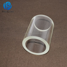 big diameter borosilicate glass tube pyrex glass pipe with fire polished end