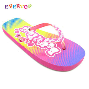 EVERTOP Alibaba china cheap wholesale personalized ladies flip flops