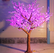 color changing led cherry blossom tree light for outdoor decoration