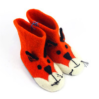 100% sheep wool wool felt shoes for children