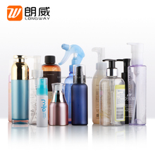 250ml Plastic PET Diamond Unique Shape Bottle with Lotion Pump Cosmetic PET Shampoo Bottle 30ml/50ml/100ml/150ml/200ml/250ml