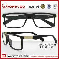 FONHCOO Italian Brands Vivo Latest Fullrim Titanium Optical Eyeglasses Frame