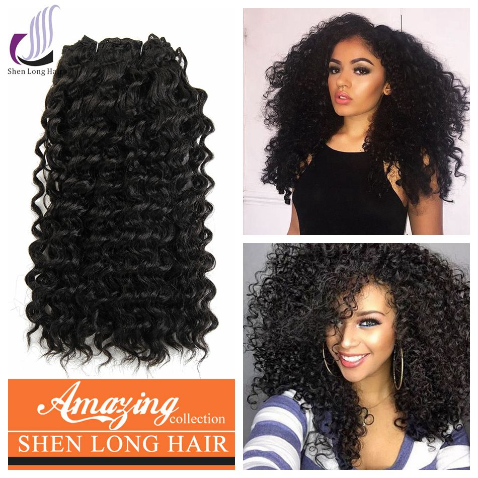 Different Types of Curly Synthetic Hair Extensions Expression Heat-resistant Synthetic Hair Weave