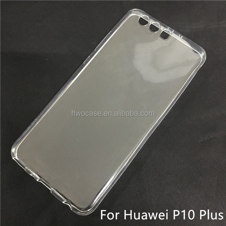 Soft TPU Silicon Transparent Clear case for Huawei P10 plus