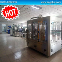 Canton machinery full automatic apple juice washing filling capping machine