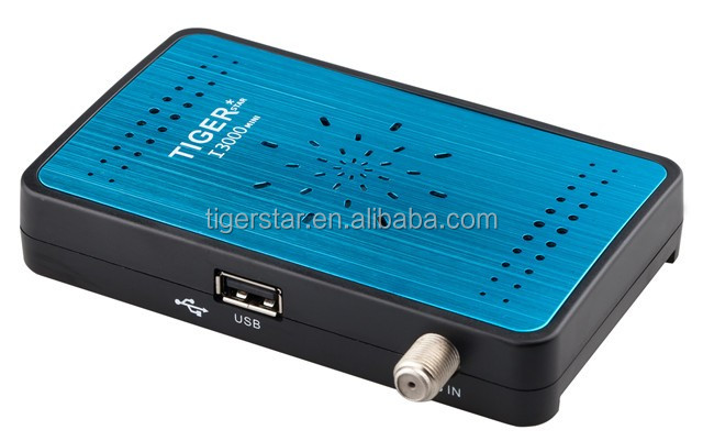 Tiger I3000 mini conax satellite receiver software android smart tv box with india channel iptv box
