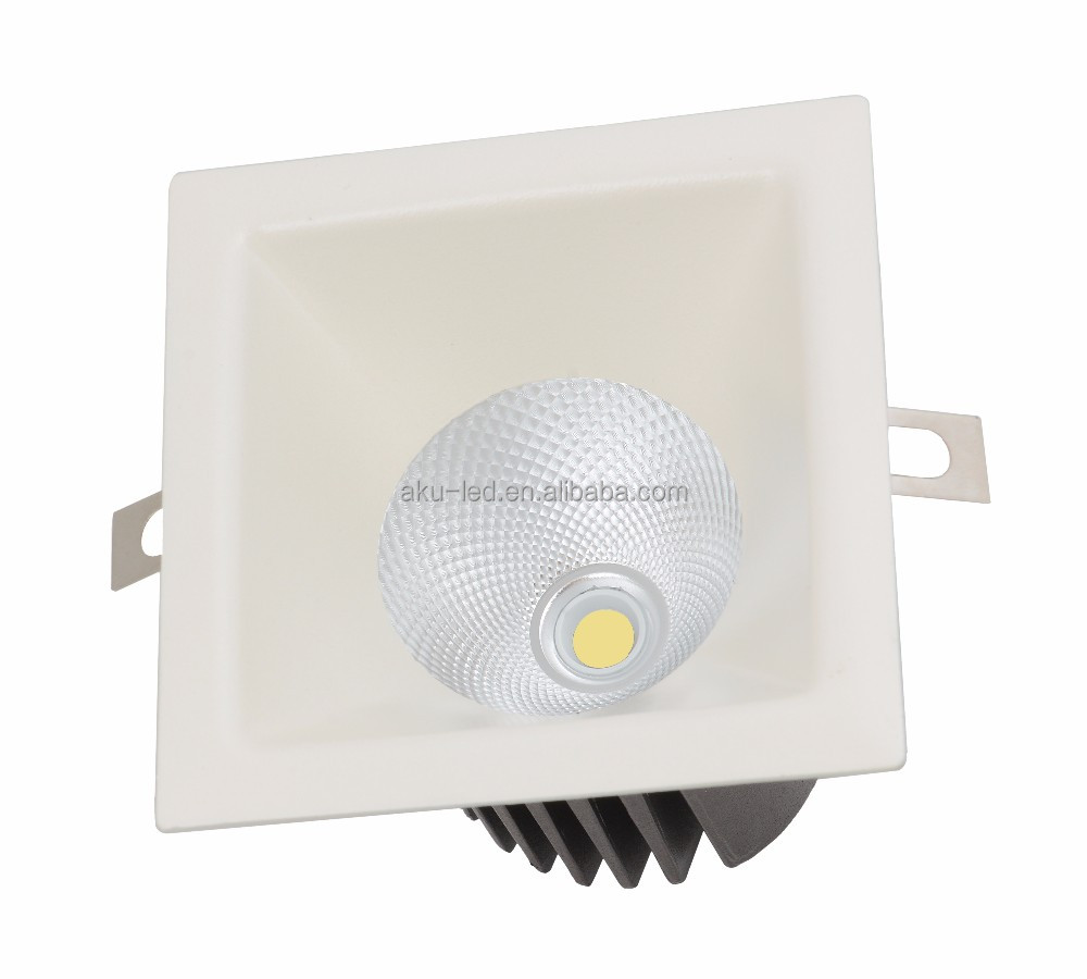 Dimmable Led Downlights Not-Adjustable 15W Ceiling Light 120v
