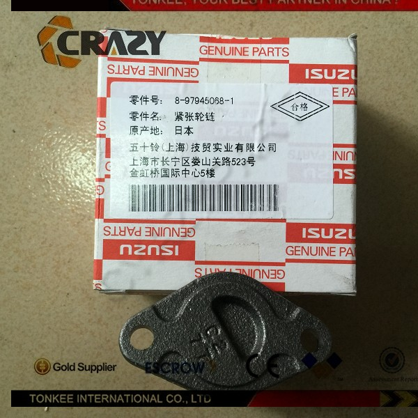 High quality 4JJ1 Belt Tensioner 4JJ1 engine Belt Tensioner 8-97945068-1 excavator spare parts