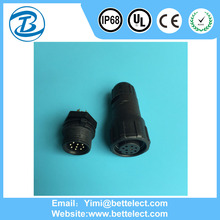 Hot Sale Promotion IP68 Power Wire 8 Pin Waterproof Electrical Connectors