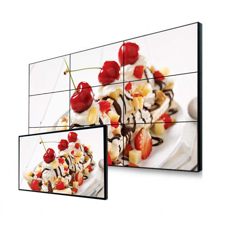 55 Inch 1080P 1.8mm Bezel Lcd Video Wall Screen For <strong>Advertising</strong>