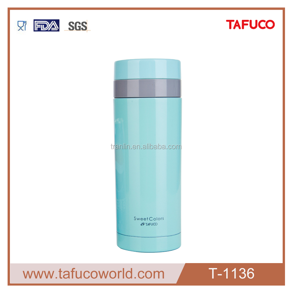350ML/13OZ Subzero Vacuum Flask Keeps Drinks Hot and Cold for 24 Hours Water Bottle