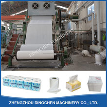 Facial tissue toilet paper making machine from Dingchen machinery