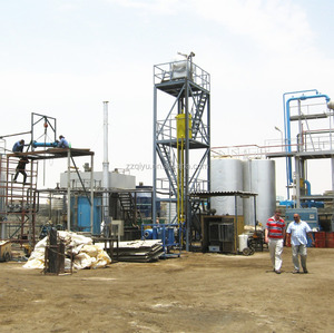Continuous Running Waste Engine Oil Recycling Machine