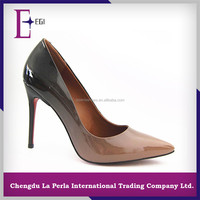 latest italian style casual women high heel dress shoe manufacturer