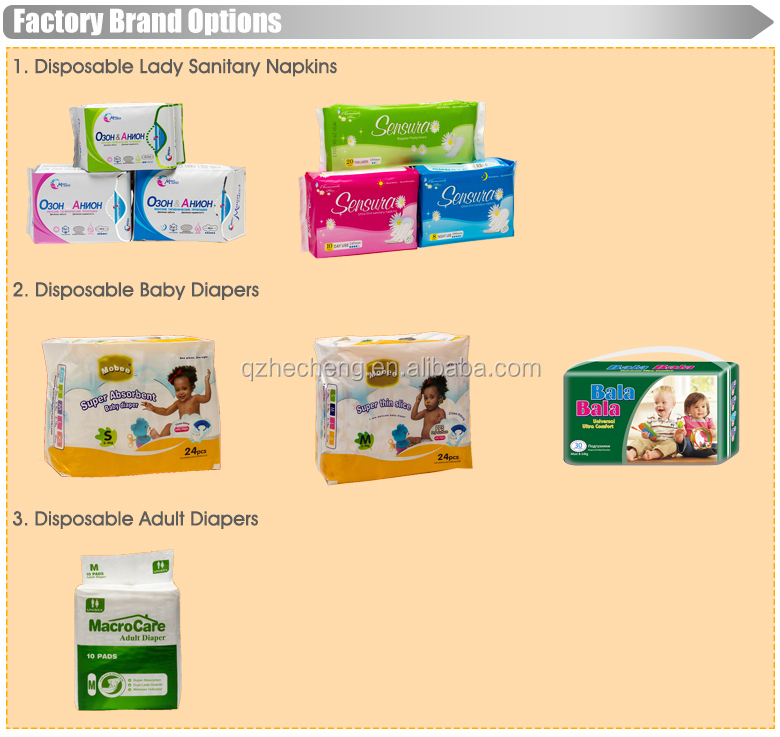 Good quality new printed cute disposable child diaper factoty in china