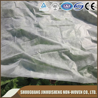 white color 100% Polypropylene Non-woven fabric plant protection blanket/landscape fabric on roll