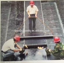 cross laminated hdpe self-adhesive bitumen waterproofing roof underlay