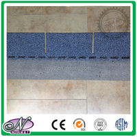 Decoration of slope roofing waterproofing coloured glaze china asphalt build roofing materials made in China