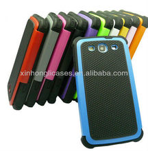 Dual Layer Hybrid protective Hard Case Cover for Samsung Galaxy S3 III i9300 (11 Colors)