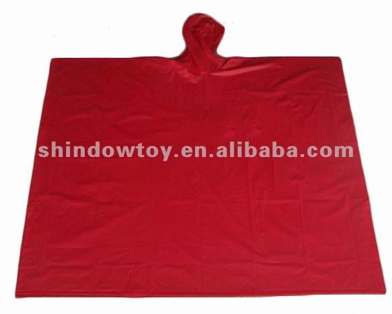 PVC / EVA rain coat waterproof, waterproof rain poncho