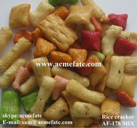 mixed rice cracker snack for parties